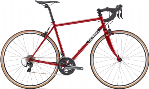Genesis Equilibrium 10 Road Bike Red 2018